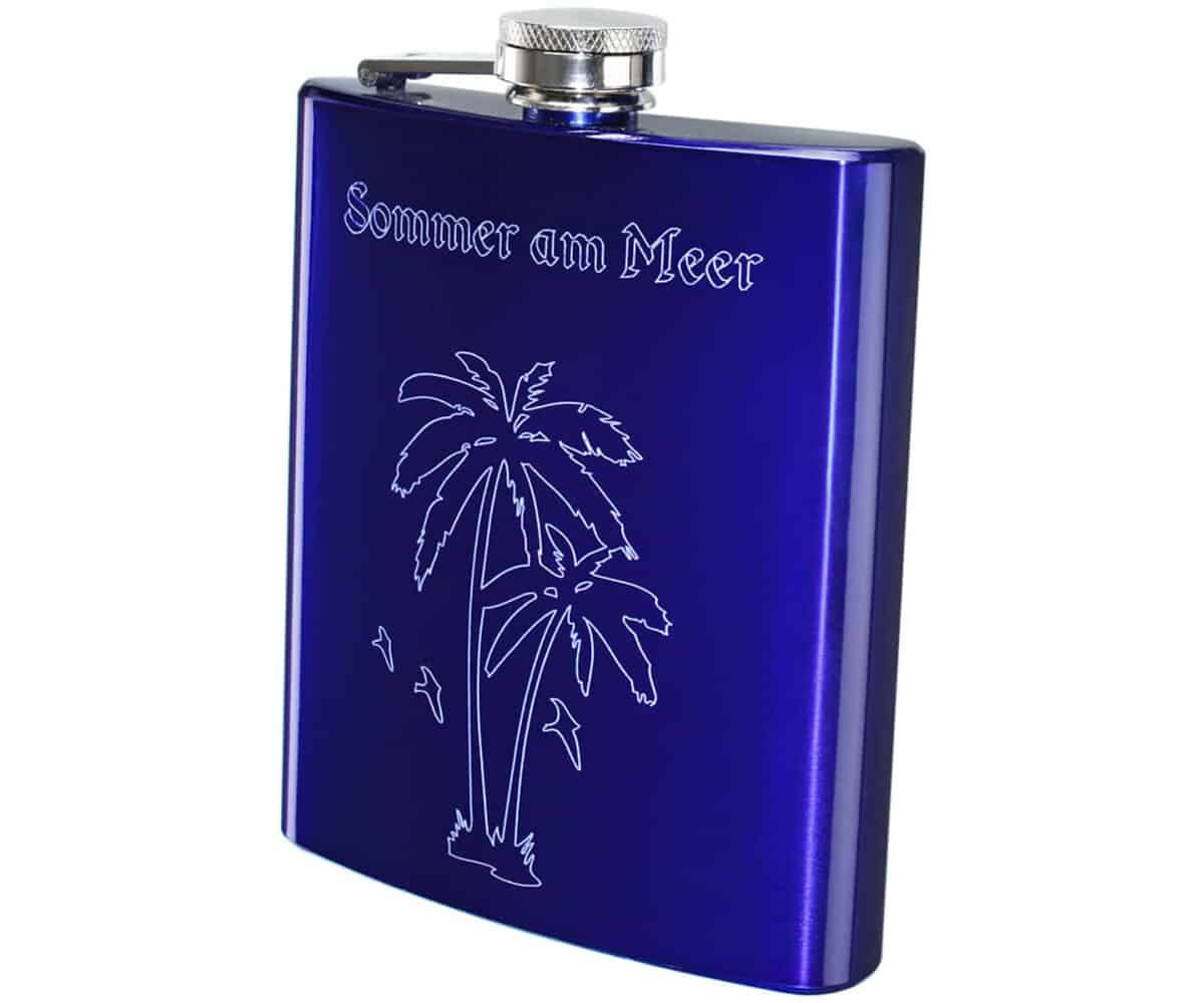 Flachmann Blau 200 ml