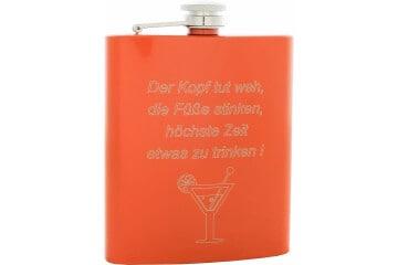 Flachmann Orange 200 ml